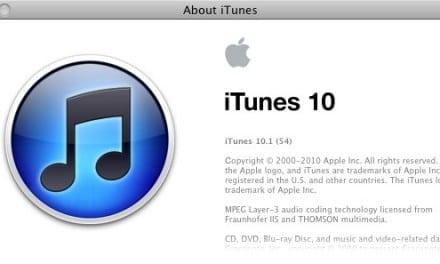 [i-노트] 아이튠즈(iTunes) 10.1 업데이트–탈옥된 기기와 궁합 OK