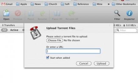[가이드] Mac OS X 용 토렌트(Torrent) 프로그램, 트랜스미션(Transmission)에서 원격 액세스 설정