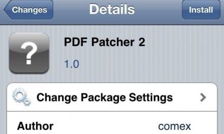 [iOS 노트] 아이패드 2 탈옥 후 PDF 보안 패치 하는 방법.