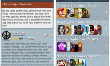 [iOS] 한시적으로 무료 배포되는 유료 앱 들을 골라 보여주는 AppGoneFree