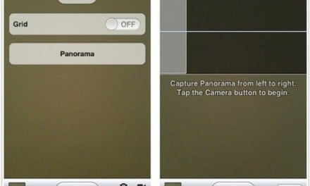 [iOS] iOS5의 숨겨진 파노라마 사진 촬영 기능 활성화 방법