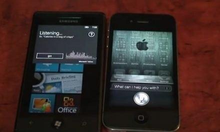[iOS] 아이폰 4S의 시리(Siri)와 MS윈도폰의 음성 인식 비교 동영상