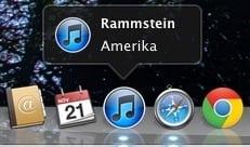 [Mac] Dock 에서 iTunes 음악 재생 정보 팝업 보기, 터미널 팁