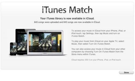 [News] iTunes 10.5.1 베타 2, iTunes Match 다시 사용 가능 및 애플TV 지원
