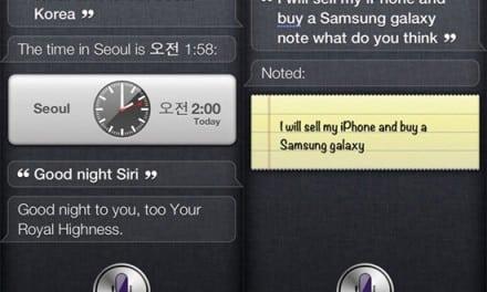 [iOS] 영어 쌩초짜를 위한 아이폰 4S 의 시리(Siri) 콩글리쉬 명령 모음 #5
