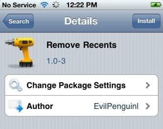 [iOS] 멀티 태스킹바에 등록된 앱들을 한방에 정리, Remove Recents (시디아 Tweak)