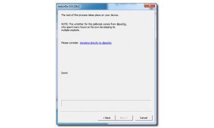 [가이드] MS 윈도 사용자를 위한 iOS 5.0.1 완탈(Untethered) 단계별 상세 가이드