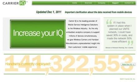 [Breaking] 안드로이드 캐리어 IQ 스파이웨어 파문, 삼성, HTC 미국에서 피소