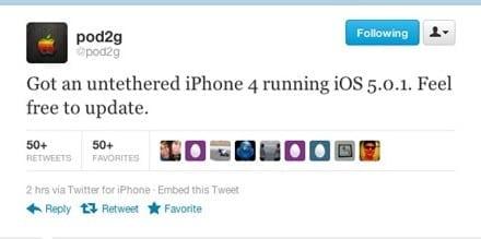 [iOS] iOS5, 5.0.1 완탈에 관한 최근 소식