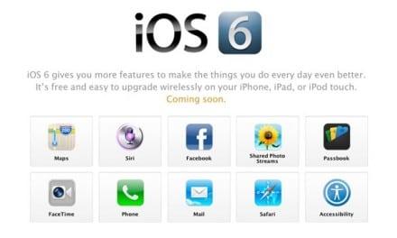 iOS6 및 아이폰5 지원 앱 실시간 목록