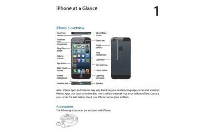 아이폰5, iOS6 애플 공식 사용자 설명서 다운로드 링크
