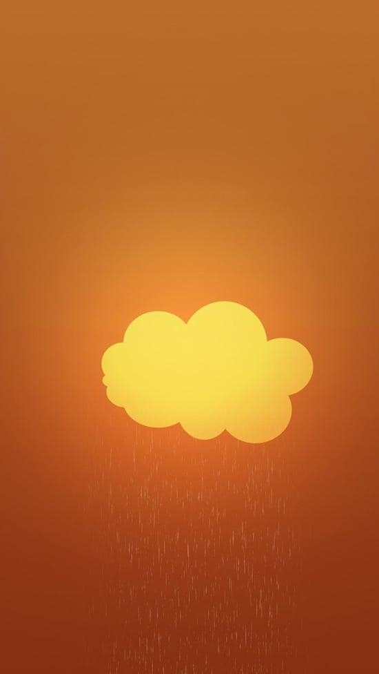 Cloud Wallpaper iPhone 5 3