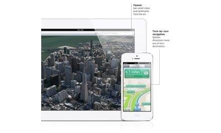 애플의 iOS6 버전에서 구글 지도 대신 비완성 지도 내장한 이유는…