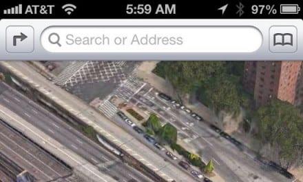 애플의 야심찬 iOS6 지도앱의 실상