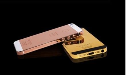 500만원짜리 24캐럿 금으로 도금된 아이폰5