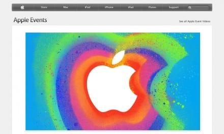 애플 스페셜 이벤트 생방송 페이지 주소 (아이패드 미니)