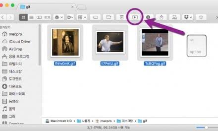 [Q&A] GIF 애니메이션 Finder 에서 편하게 보는 방법