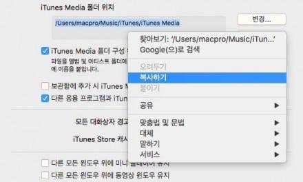 [Q&A] 맥북 아이튠즈 노래 이름 변경이 안될 때 조치방법