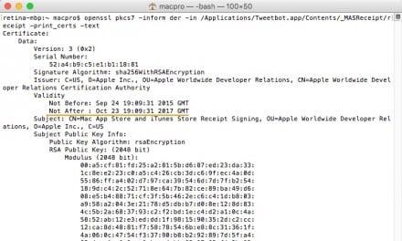 애플 Mac 앱스토어 인증 오류로 장애발생