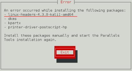 Kali Linux Parallels Desktop, 오늘 at 오전 3.39.09