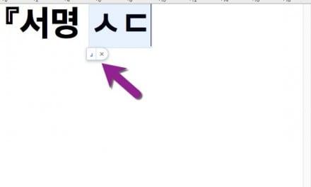 Mac 에서 특수문자 자동 입력하기