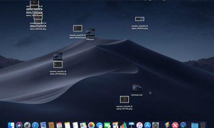 심심한 애플 개발자의 장난? macOS 모하비의 데스크탑 엉망으로 만들기 메뉴